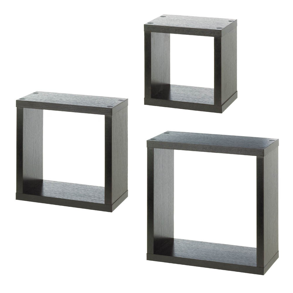 Square floating wall cubes sku 10016995 home decor vases and accents - Cube wall decor ...
