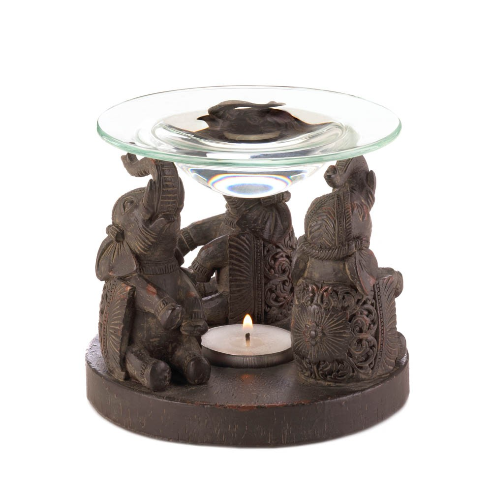 Elephant oil warmer sku 10017308 home decor Elephant home decor items