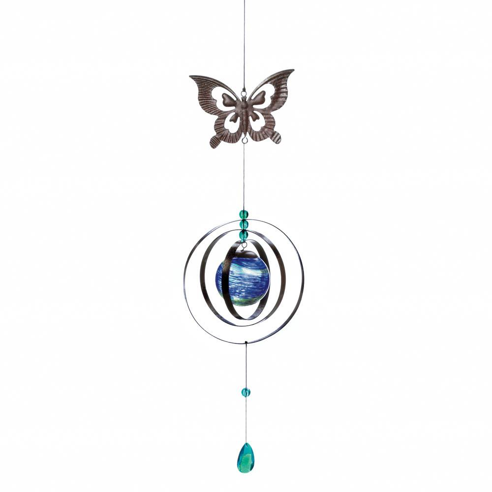 SKU 10018160 | Glow-in-the-dark Butterfly Wind Spinner