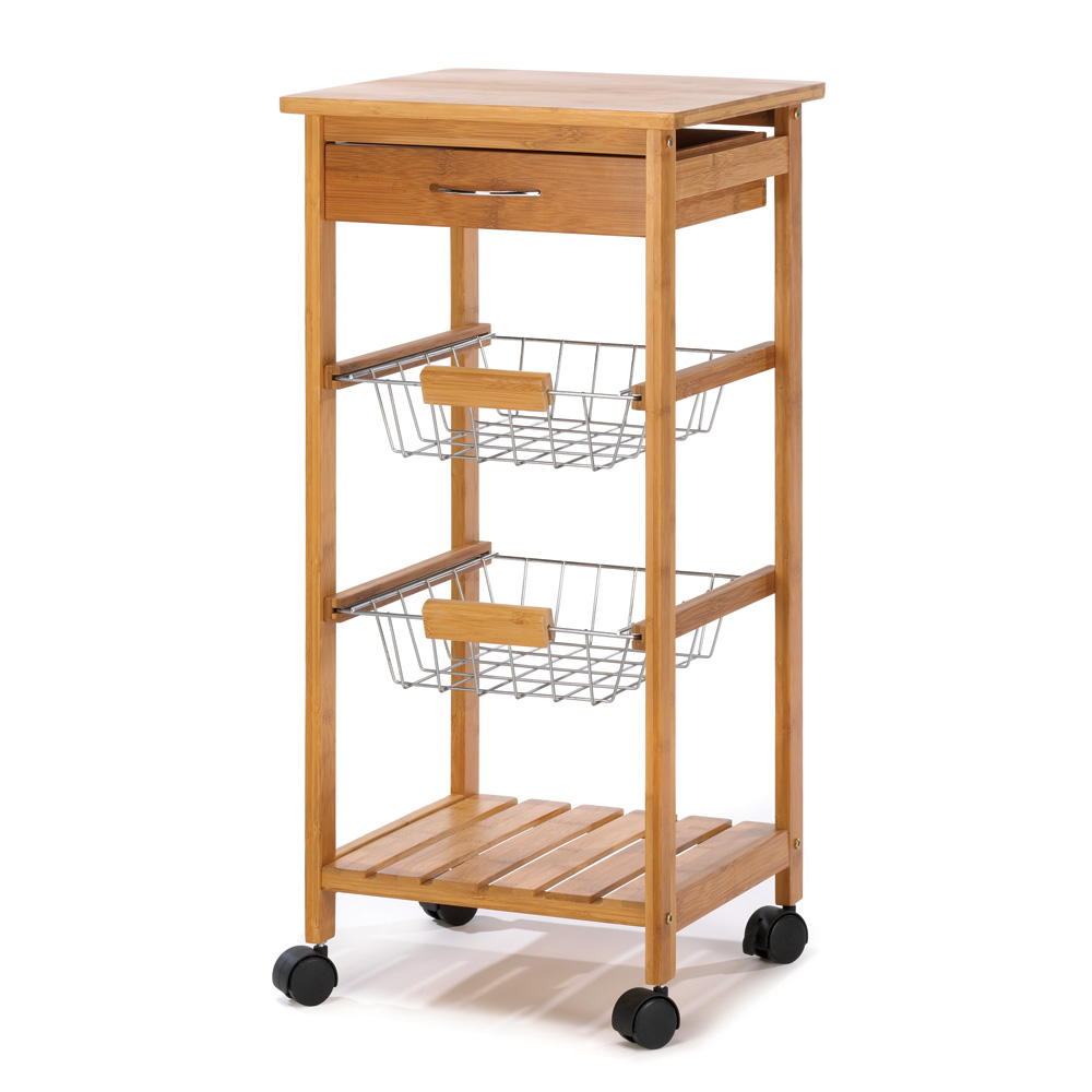Osaka Rolling Kitchen Cart Sku 14710 Home Decor