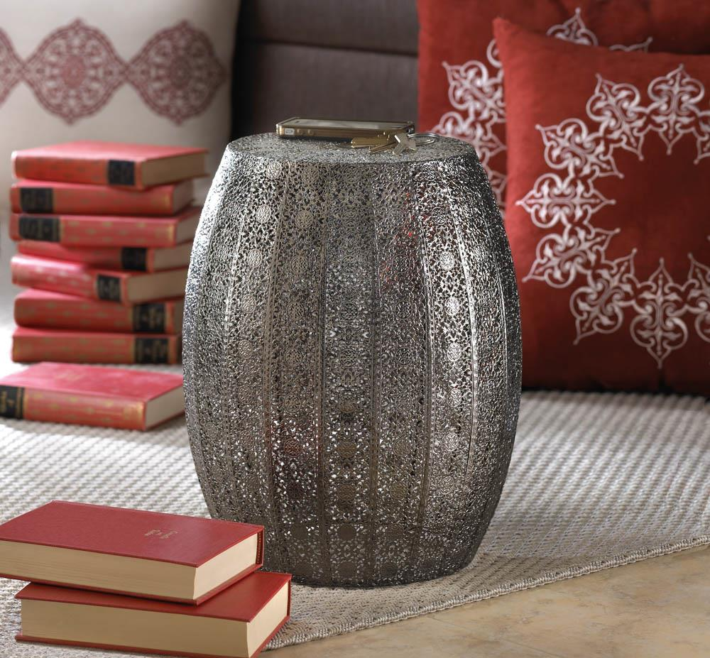 Moroccan Lace Stool