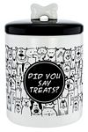 Did You Say Treats? Ceramic Canister
