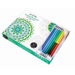 Harmony Adult Coloring Book With Pencils