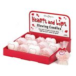 Hearts And Lips Glow Candles