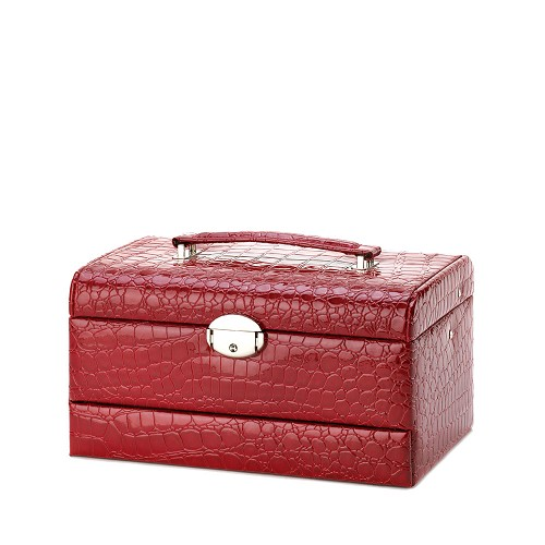 Red Large Jewelry Case