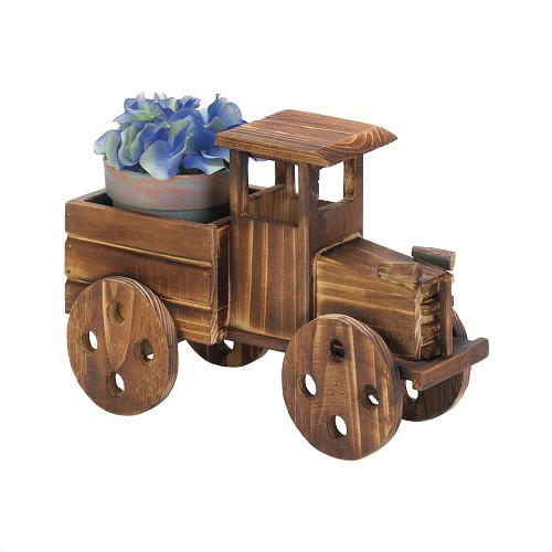 Rustic Antique Truck Planter