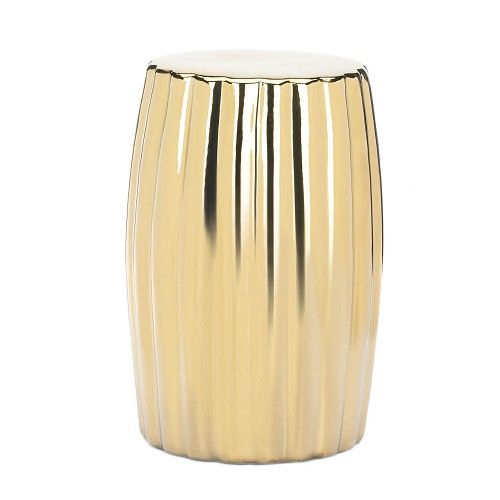 Gold Decorative Stool | SKU 10018883 | Home Decor